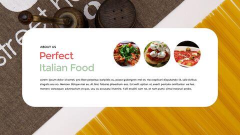 이탈리아 음식 비즈니스 프레젠테이션 템플릿_07