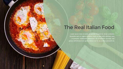 이탈리아 음식 비즈니스 프레젠테이션 템플릿_08