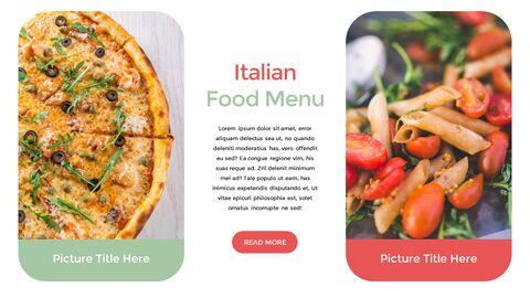 이탈리아 음식 비즈니스 프레젠테이션 템플릿_11