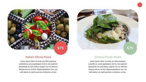 이탈리아 음식 비즈니스 프레젠테이션 템플릿_12