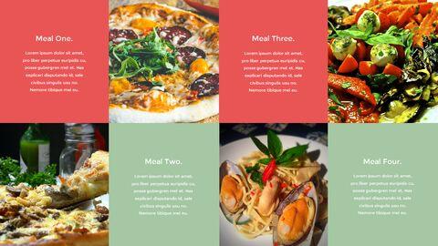 이탈리아 음식 비즈니스 프레젠테이션 템플릿_14