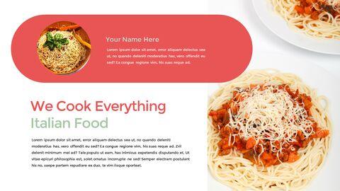이탈리아 음식 비즈니스 프레젠테이션 템플릿_16
