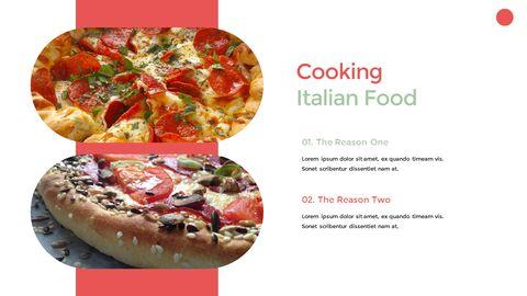 이탈리아 음식 비즈니스 프레젠테이션 템플릿_21
