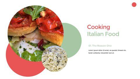 이탈리아 음식 비즈니스 프레젠테이션 템플릿_25