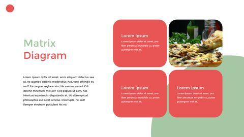 이탈리아 음식 비즈니스 프레젠테이션 템플릿_35