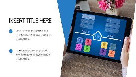 스마트 홈 PowerPoint 템플릿 디자인_04