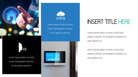 스마트 홈 PowerPoint 템플릿 디자인_14