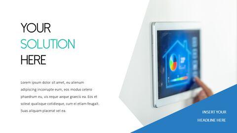 스마트 홈 PowerPoint 템플릿 디자인_23