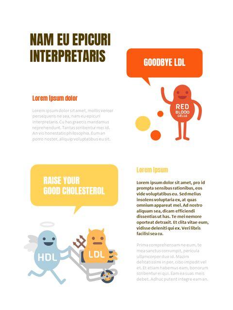 건강한 인포그래픽 세로형 PPT 디자인 템플릿_23