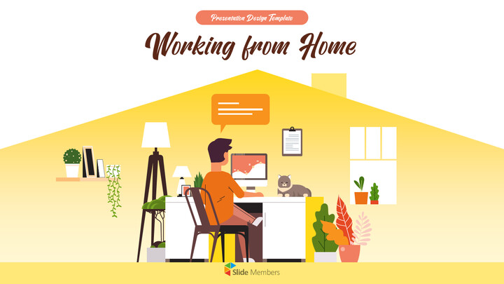 Working from Home Business plan PPT Templates_01