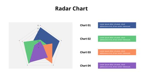 Color Filled Radar Chart with Text_03