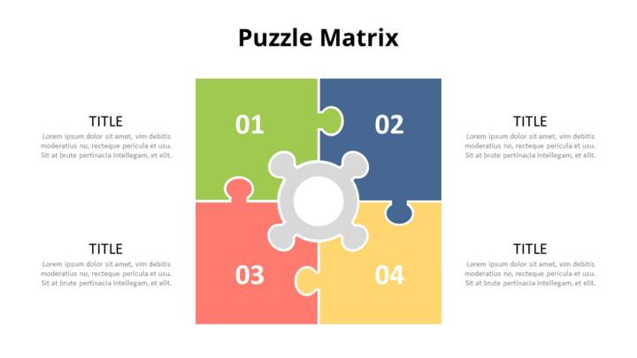퍼즐 매트릭스 인포 그래픽 다이어그램_01