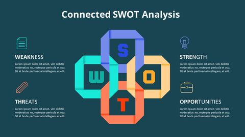 Cross SWOT Analysis Animation Diagram_06