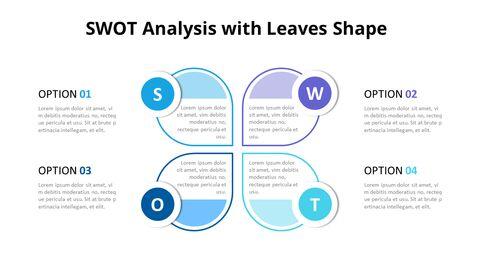 Leaves SWOT Analysis Diagram Animation Diagram_03