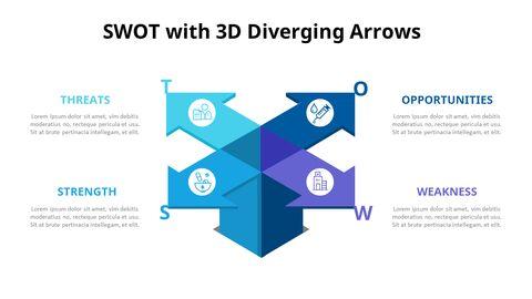 Leaves SWOT Analysis Diagram Animation Diagram_06
