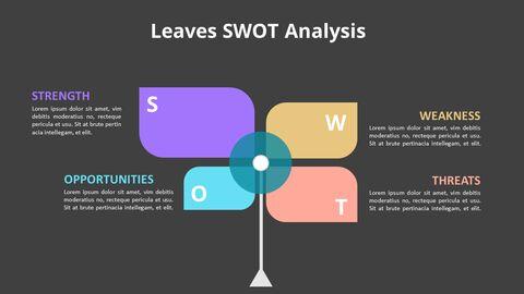Leaves SWOT Analysis Diagram Animation Diagram_08