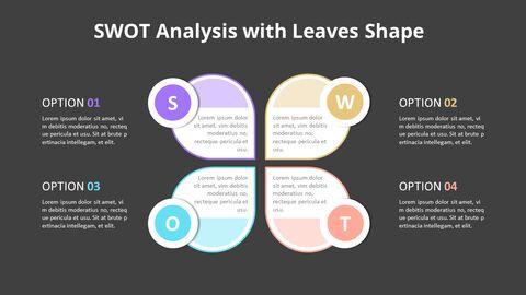 Leaves SWOT Analysis Diagram Animation Diagram_10