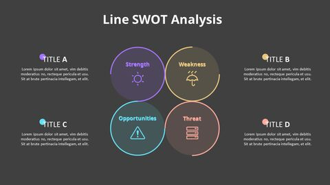 Leaves SWOT Analysis Diagram Animation Diagram_11