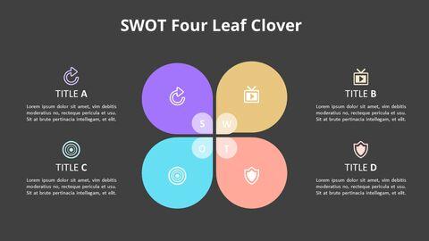 Leaves SWOT Analysis Diagram Animation Diagram_12