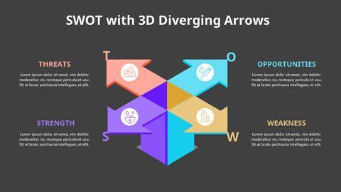 Leaves SWOT Analysis Diagram Animation Diagram_13