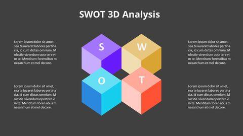 Leaves SWOT Analysis Diagram Animation Diagram_14