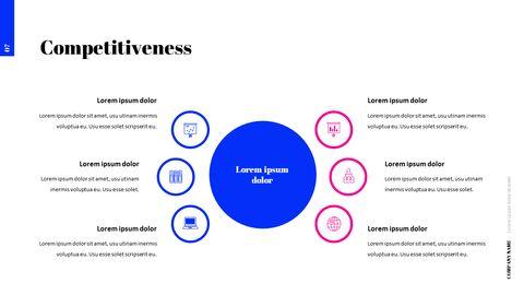 간단한 색상 피치덱 템플릿 프레젠테이션 PowerPoint 템플릿 디자인_08