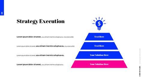 간단한 색상 피치덱 템플릿 프레젠테이션 PowerPoint 템플릿 디자인_10