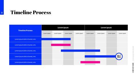간단한 색상 피치덱 템플릿 프레젠테이션 PowerPoint 템플릿 디자인_14