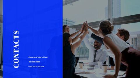 간단한 색상 피치덱 템플릿 프레젠테이션 PowerPoint 템플릿 디자인_15