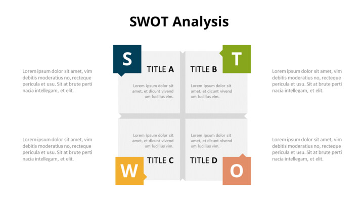 SWOT 분석 다이어그램 애니메이션 파워포인트 템플릿_01