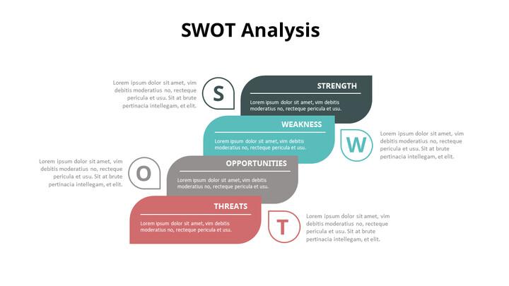 SWOT 분석 다이어그램 애니메이션 파워포인트 템플릿_02