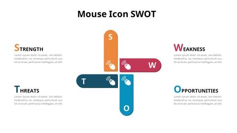 SWOT Analysis with Icons Diagram Animated PowerPoint Templates_03