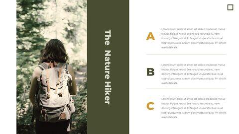 가을 하이킹 우아한 ppt 템플릿_08