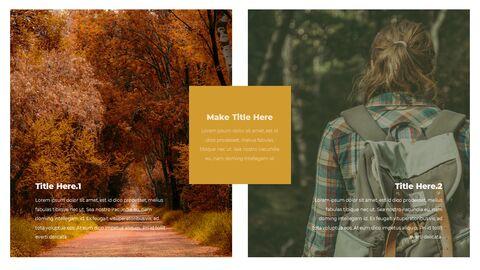 가을 하이킹 우아한 ppt 템플릿_22