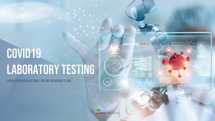COVID19 Laboratory Testing Templates for PowerPoint_01