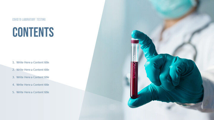 COVID19 Laboratory Testing Templates for PowerPoint_02