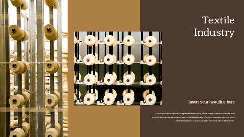 섬유 산업 파워포인트 프레젠테이션 디자인_24