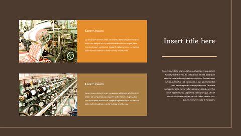 섬유 산업 파워포인트 프레젠테이션 디자인_38
