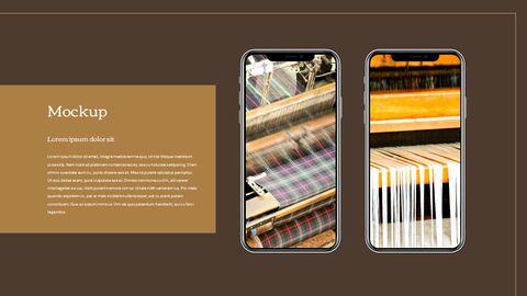 섬유 산업 파워포인트 프레젠테이션 디자인_39