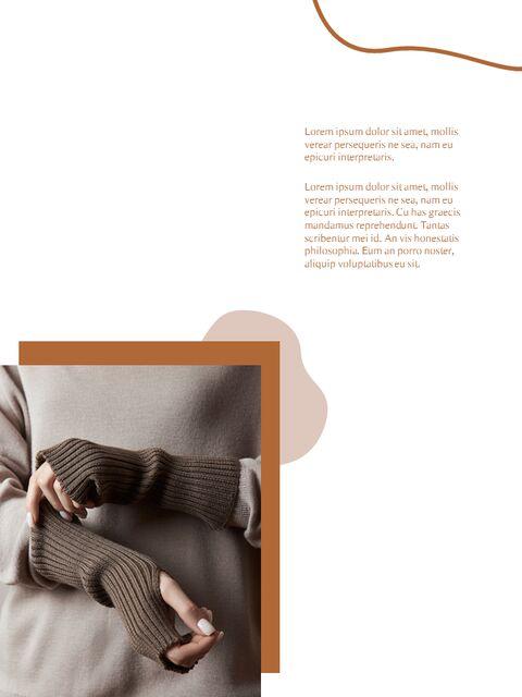 가을 Lookbook 추상 디자인 파워포인트 목차_05