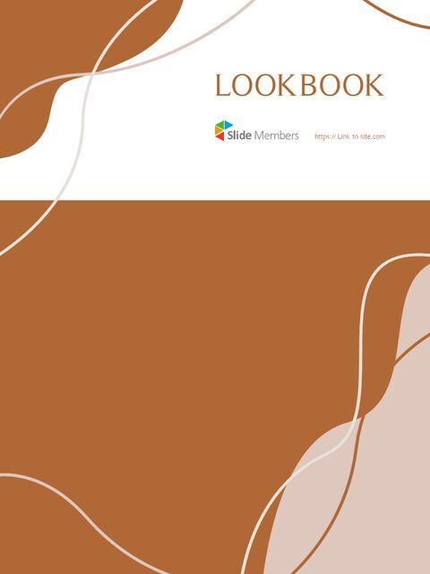 가을 Lookbook 추상 디자인 파워포인트 목차_32