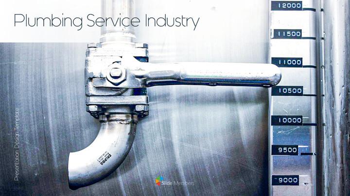배관 서비스 산업 PPT 프레젠테이션_01