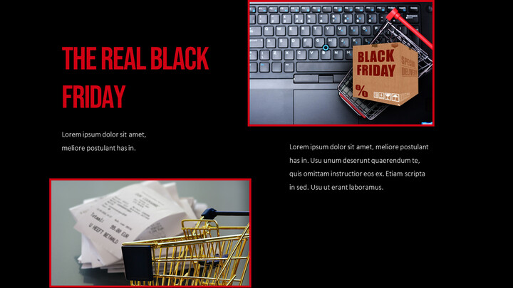 블랙 프라이데이 회사 프로필 ppt 템플릿_02