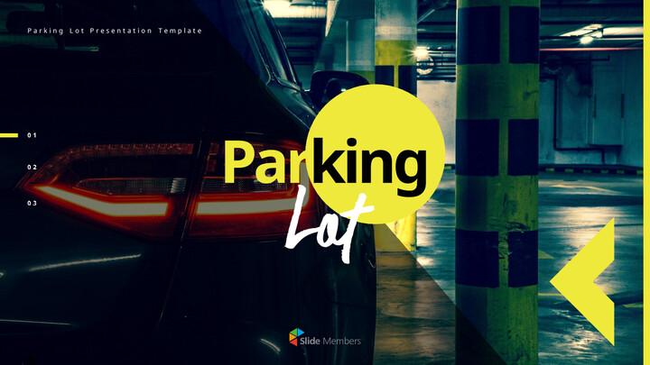 주차장 전문적인 프레젠테이션_01
