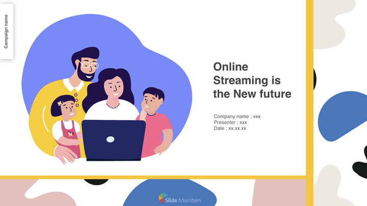Online streaming is the new future Business Keynote_01