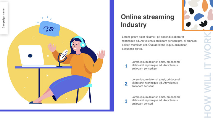Online streaming is the new future Business Keynote_02