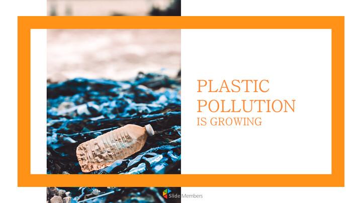 플라스틱 오염이 증가하고 있습니다 슬라이드 템플릿_01