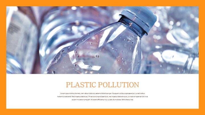 플라스틱 오염이 증가하고 있습니다 슬라이드 템플릿_02