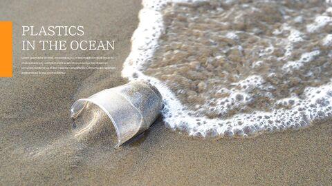 플라스틱 오염이 증가하고 있습니다 슬라이드 템플릿_15