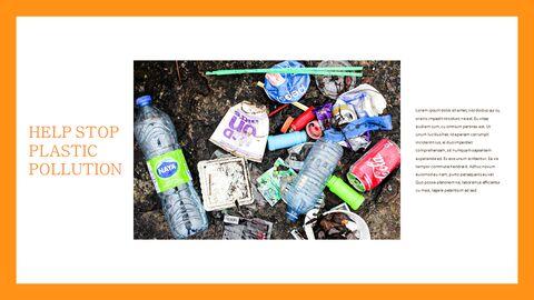 플라스틱 오염이 증가하고 있습니다 슬라이드 템플릿_22